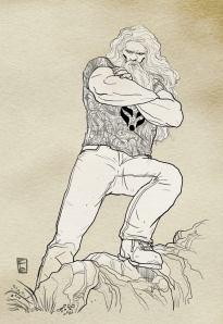 Siaghal - illustrazione di Fabio Babich